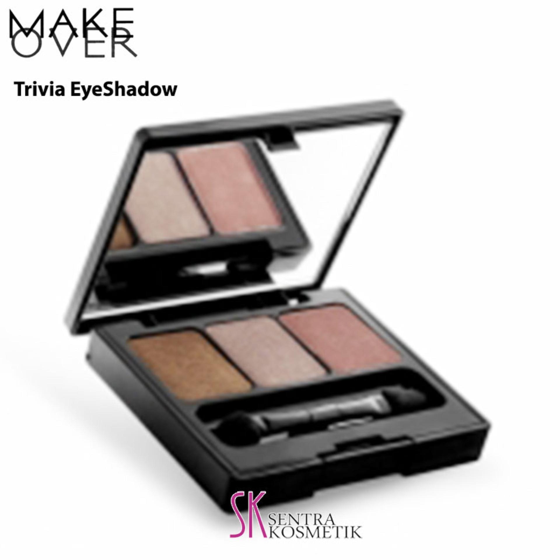 MAKE OVER Trivia Eye Shadow - Natural Nude