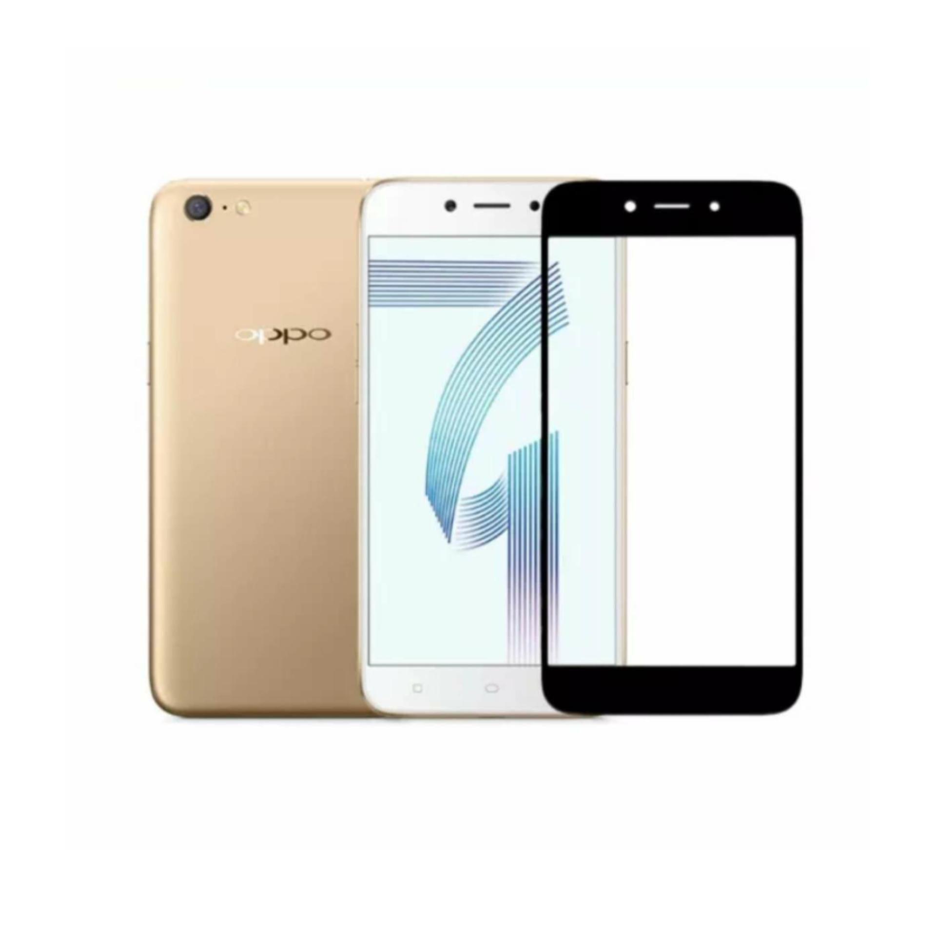 ... Protector Putih Source · Tempered Glass 9Star For Oppo A71 Full Screen List Warna Hitam