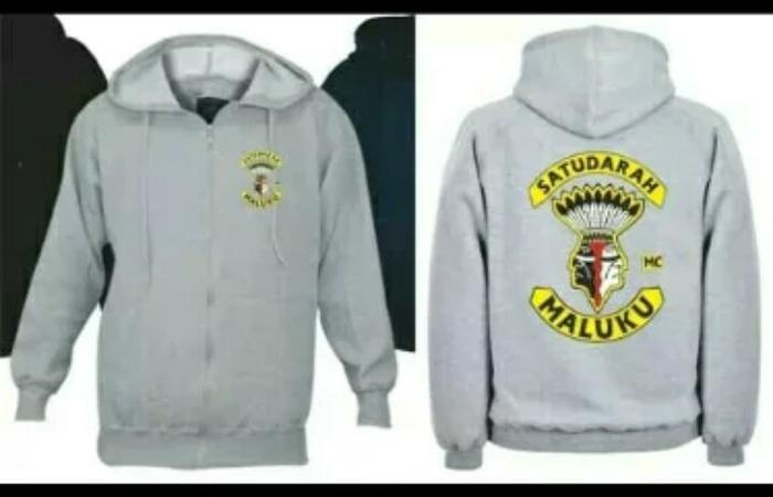 Sweater/Hoodie/Zipper Satu Darah Maluku Motor Club Terlaris. Barang ini di jual ...