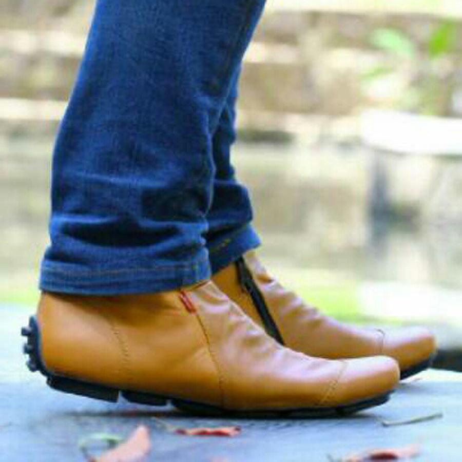 Sepatu Casual Sneakers Pria Kickers Zipper Boots Murah 98eddc1c4a