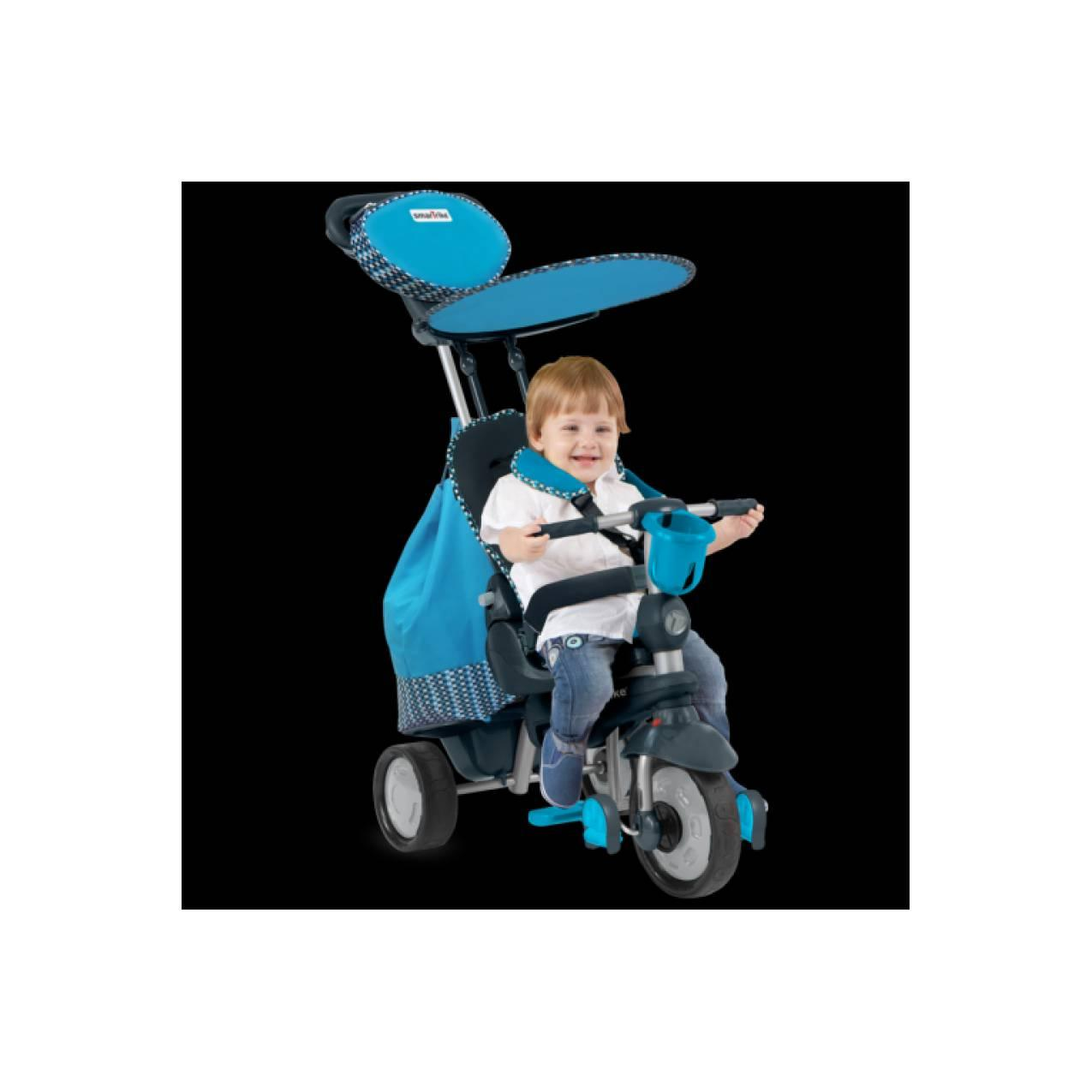 Smart Trike Splash 5in1 Blue Recliner