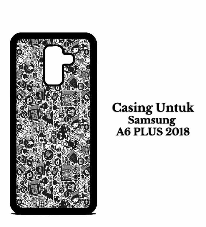 Casing SAMSUNG A6 PLUS art pop art concept Hardcase Custom Case Snitchshop