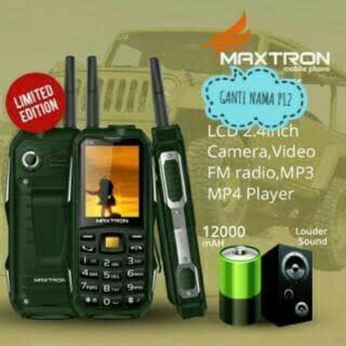 MAXTRON C15 NEW BS POWER BANK BATRE 12000