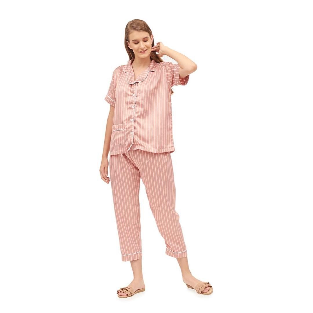 Ginshashop - Baju Tidur Satin Maxmara Satin Jepang   Baju Tidur Wanita    Baju Bobo   c477207541