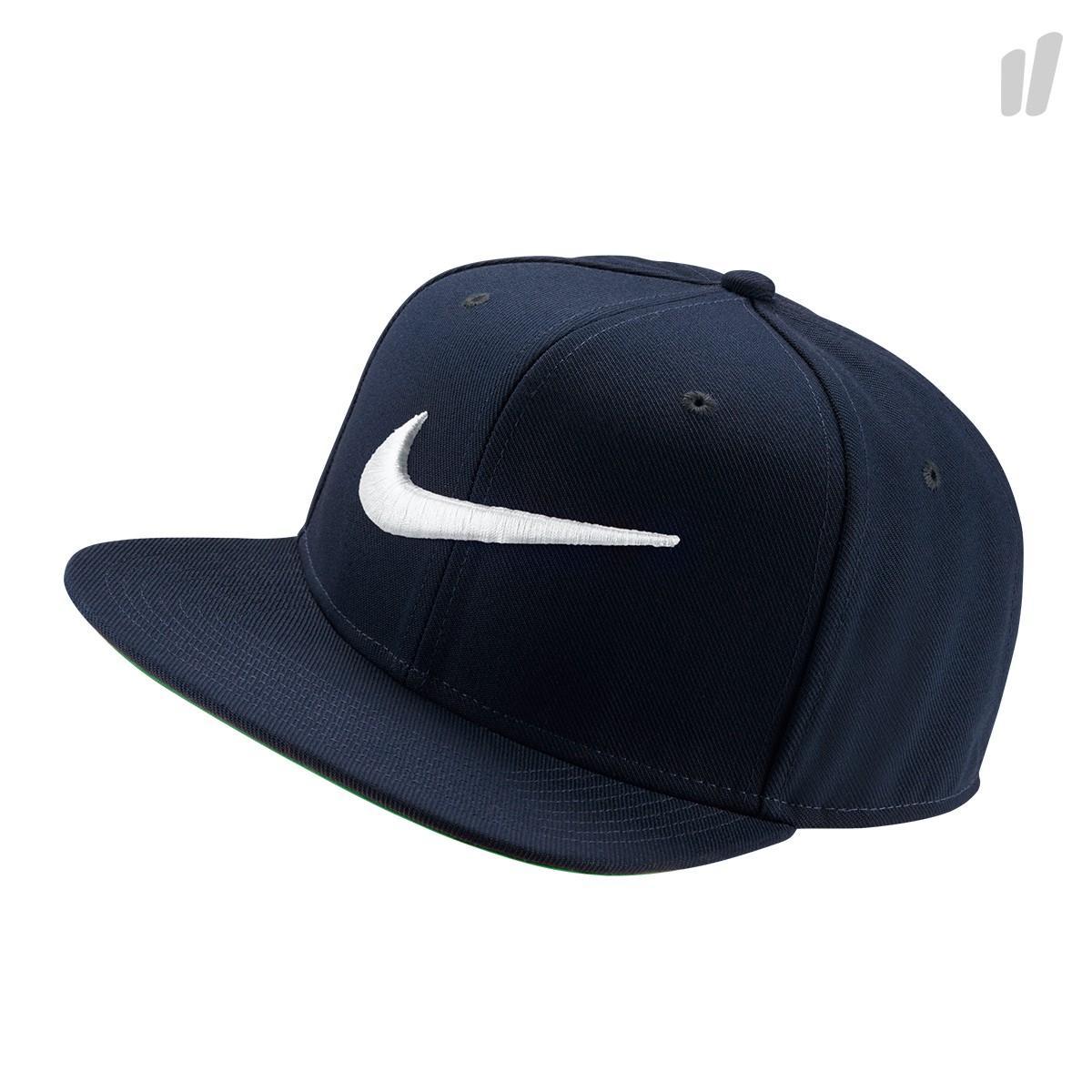 Nike Topi Swoosh Pro classic Cap - 639534-451 - Navy