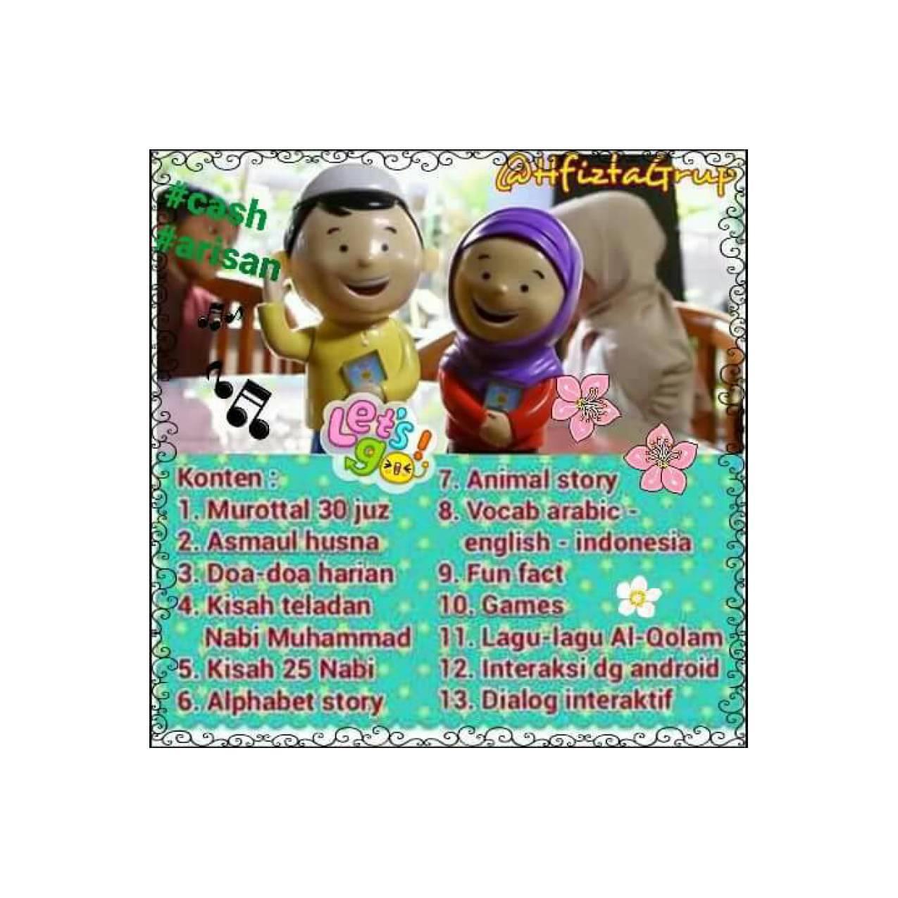 Al Qolam Hafiz Talking Doll Boneka Bisa Mengaji Dan Berbicara - Daftar Harga Terkini dan Terlengkap