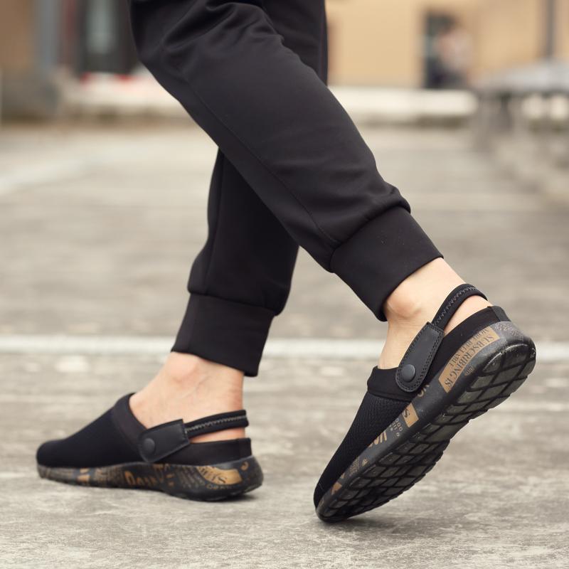 Sandal Summer Model Crocs Pria Sandal Selop Diluar Ruangan Memakai
