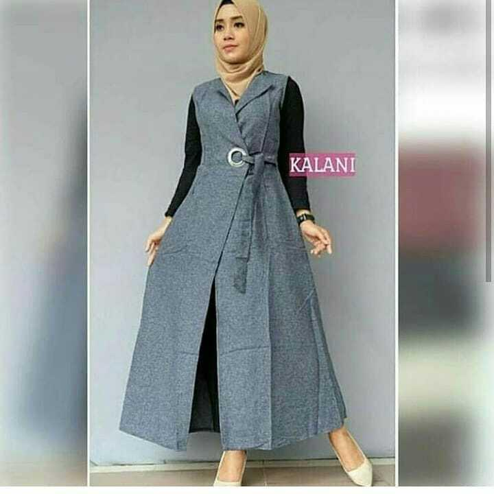 Baju Muslim Original Cardigan Kalani Outer Baloteli Baju Wanita Hijab  Casual Hijab Modern Pakaian Trendy Simple a67da2a660