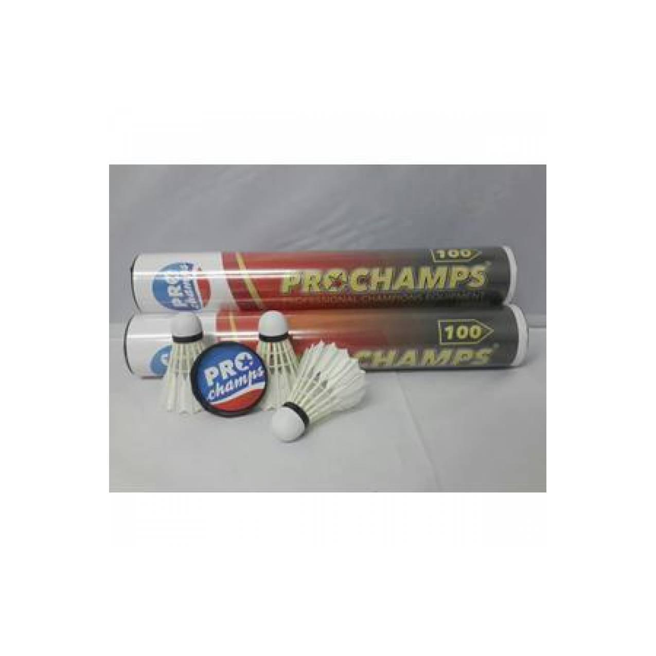 Jual Kok Bulutangkis / Shuttlecock Badminton Prochamps 100 (BONUS GR