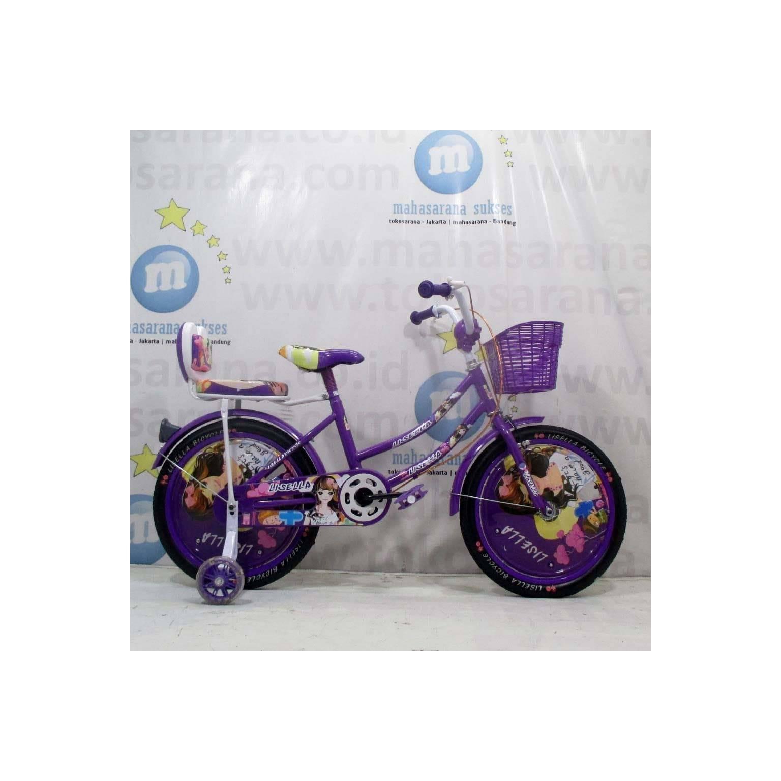 Ongkir Murah 18 Inci Lisella LS2201 Girl CTB Sepeda Anak Sumatera-Jawa