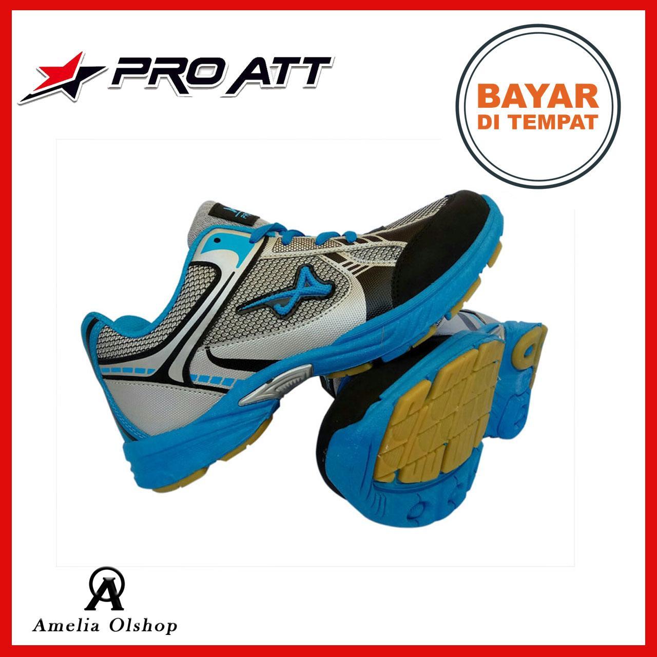 ... Pro ATT Sepatu Sport Pria   Sepatu Olahraga Original - HijauIDR90000.  Rp 90.000 90c2128bc4