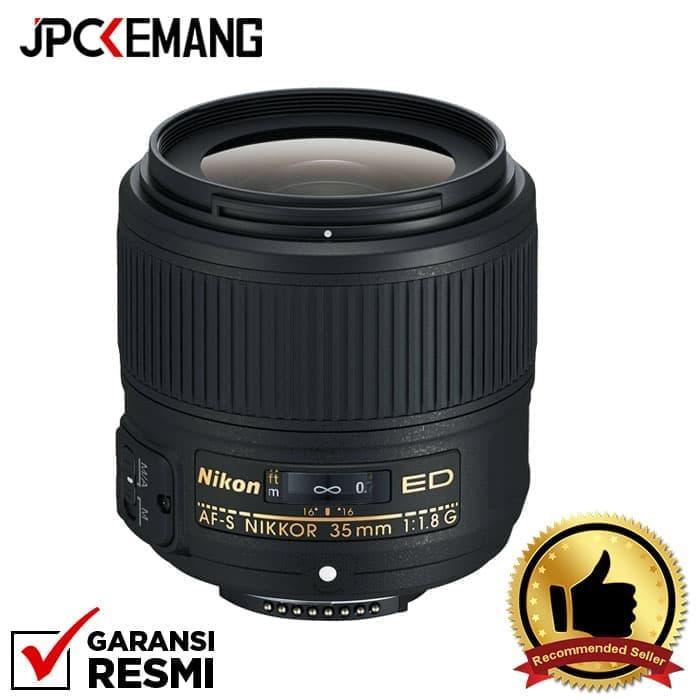 Nikon AF-S 35mm f/1.8G ED jpckemang GARANSI RESMI