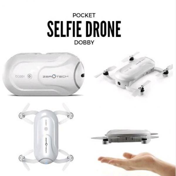 Zerotech DOBBY mini pocket Selfie Drone 4K 13Mp Dual GPS