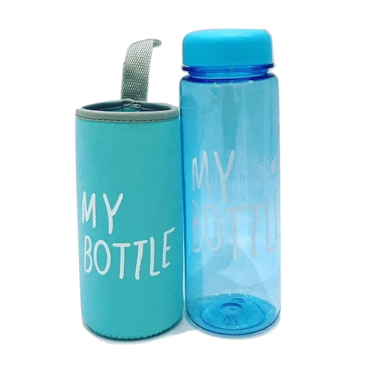 My Bottle Doff Elegant 545 Ml Bag Sarung Tas Botol Minum Tritan Bpa 500ml Free Pouch Full Colour Bening Busa
