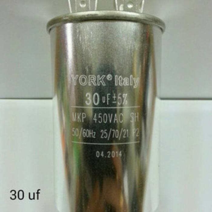 Banyak diCARI Kapasitor (Capacitor) AC 30 uf - 450V Aluminium Spare Part AC