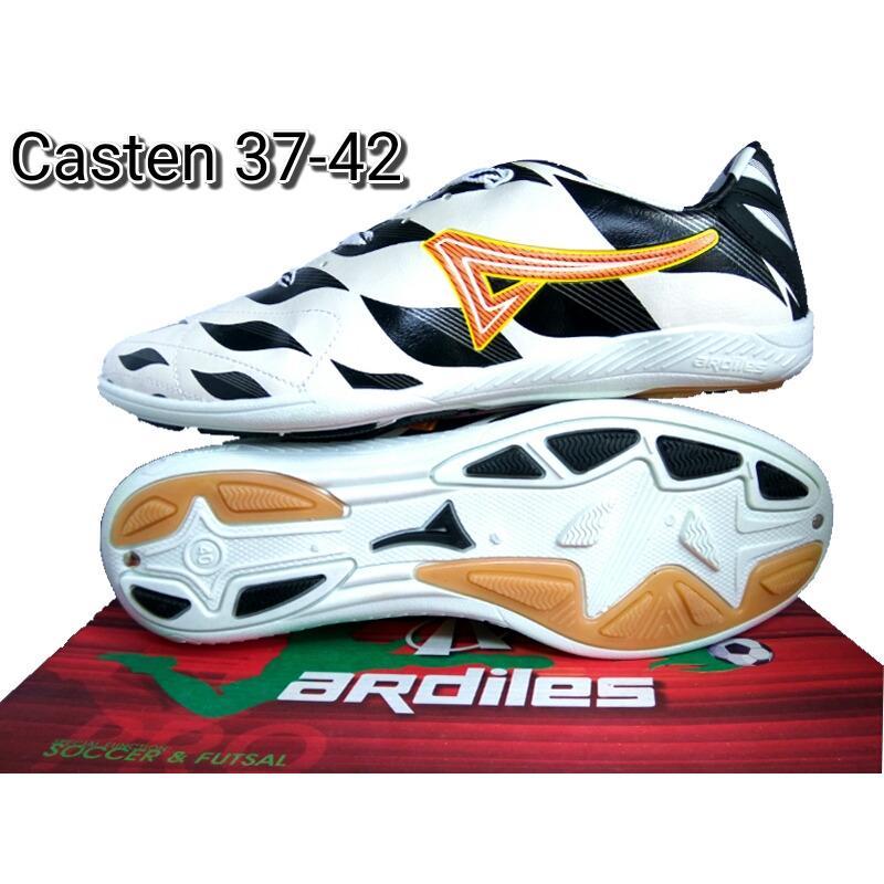 Ardiles Casten Black White - Sepatu Futsal - Sepatu Olahraga - Sepatu Running - Sepatu Murah