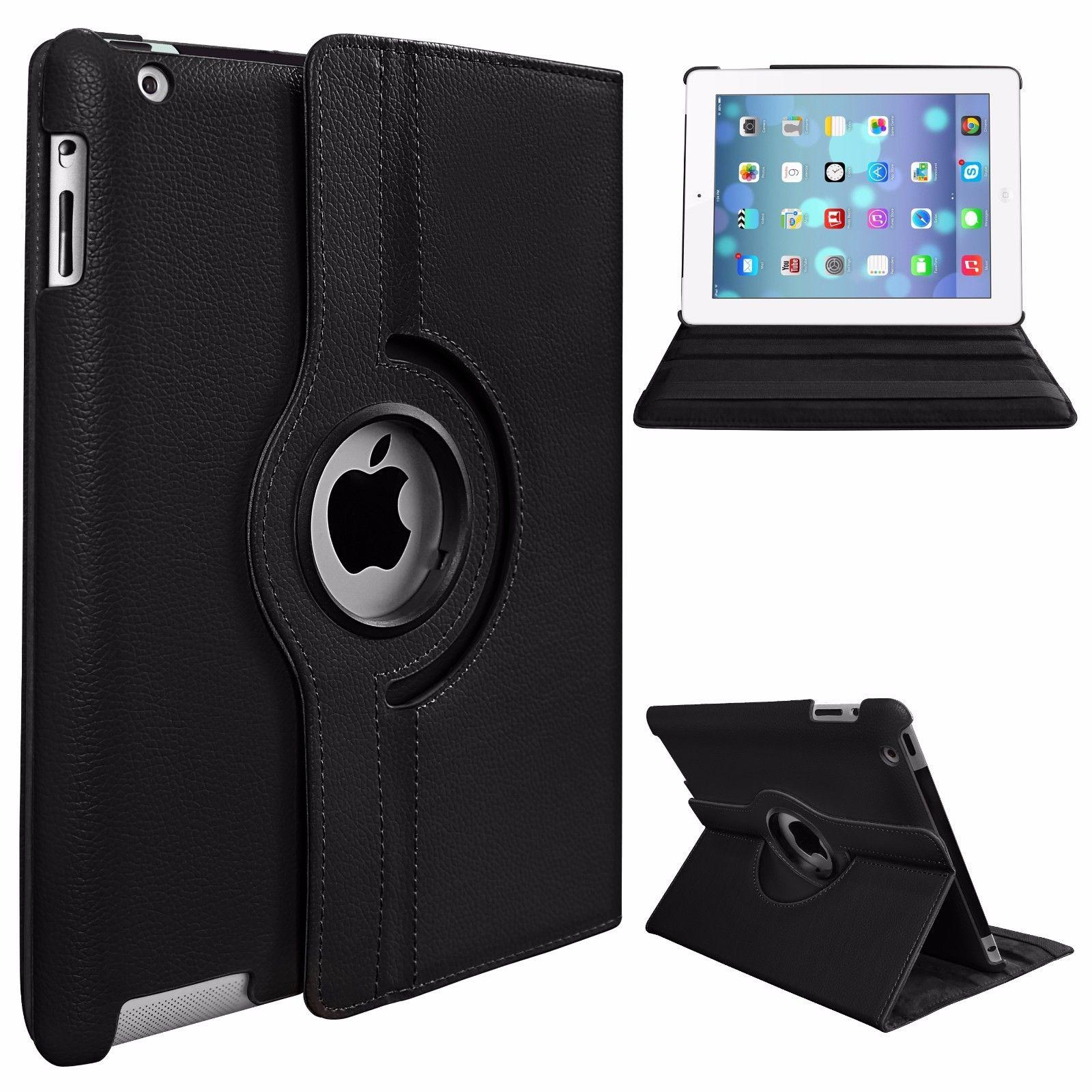 Tablet Case 360 Rotary PU Leather Smart Stand Apple iPad 9.7