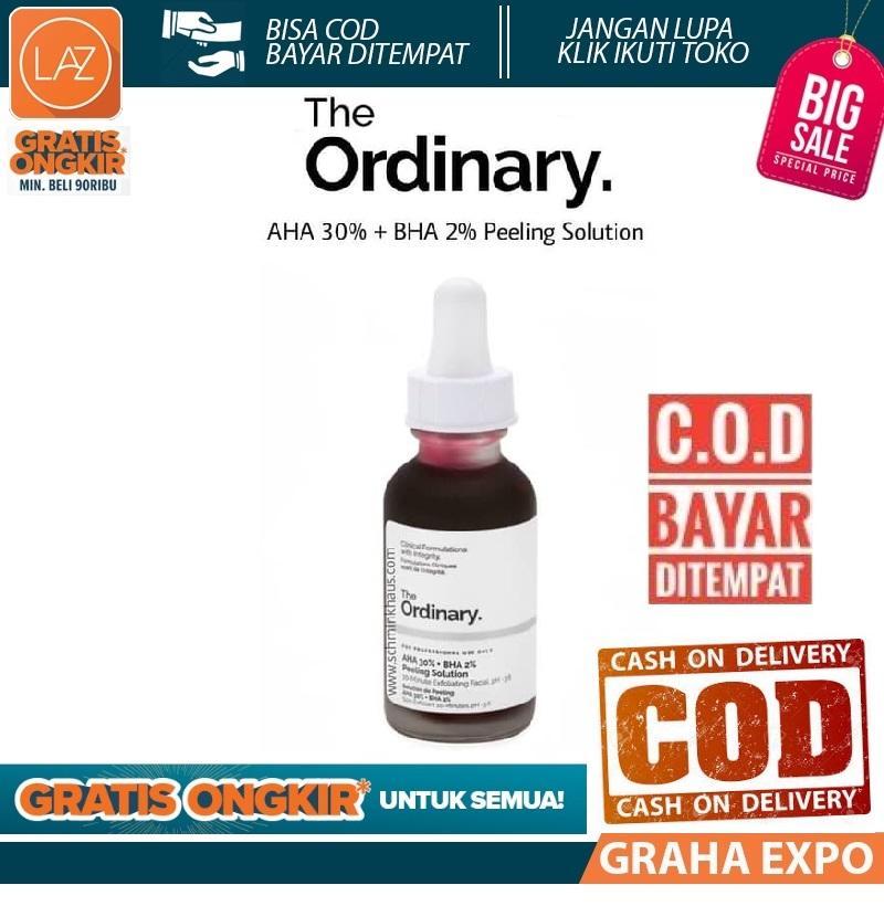 The Ordinary AHA 30% + BHA 2% Peeling Solution Isi 30ml Original Laz COD