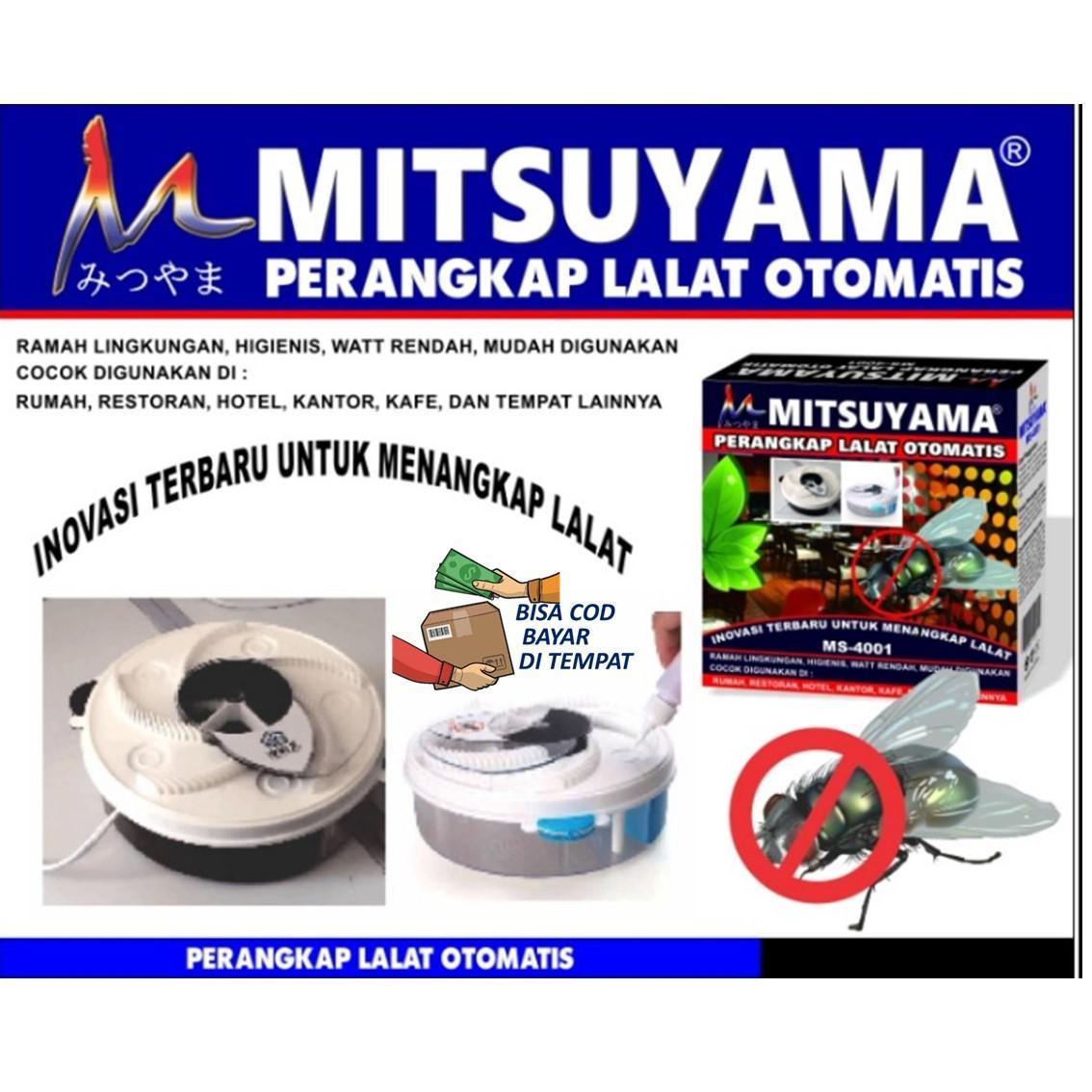 TERMURAH DI LAZADA Perangkap Lalat Otomatis / Jebakan Lalat Merk Mitsuyama MS-4001