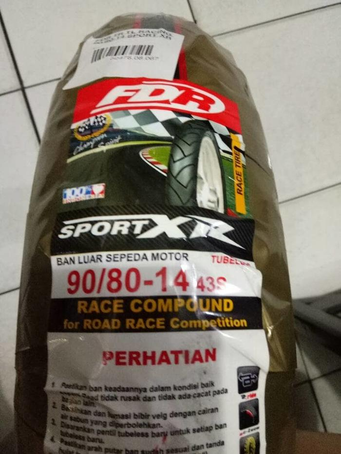 Ban FDR Softcompound 90/80-14 SPORTXR Tubeless