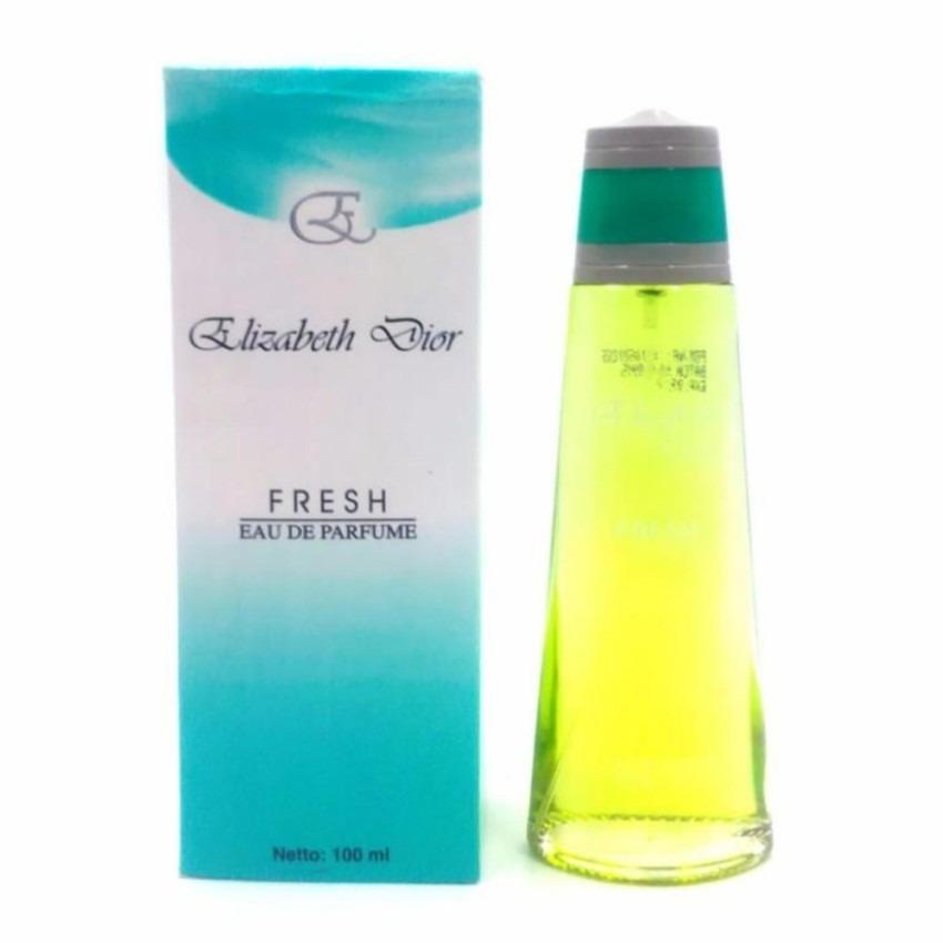 MonicShop BPOM Elizabeth Fresh Green Women Parfum Original Lokal 100ML