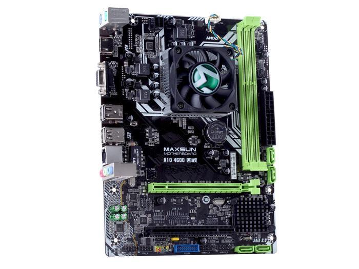 ORIGINAL - MAXSUN MS-A10 4600 (Onboard AMD A10-4600  2.3GHZ, DDR3, VGA+HDMI)