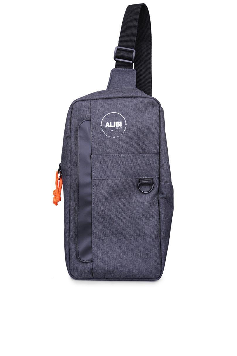 Alibi Men Bags Crossbody Bags Grey Shoulder Bag