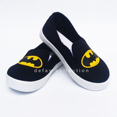 Sepatu Casual Anak Motif Batman By Defay Collection.
