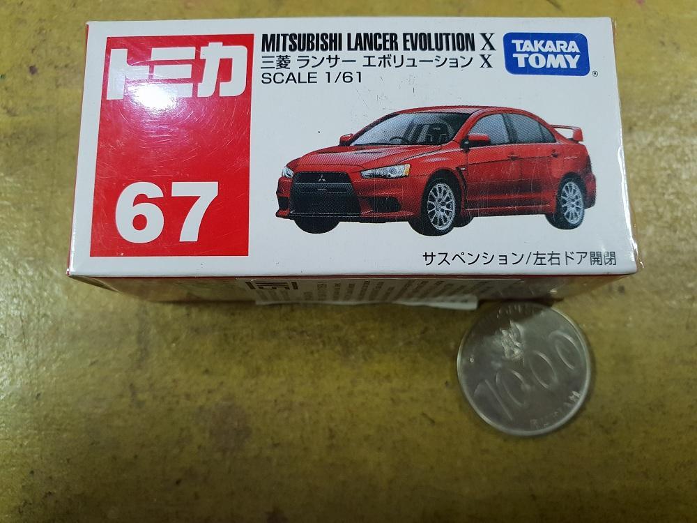 Takara Tomy Tomica Mitsubishi Lancer Evolution X Super Rare New Segel