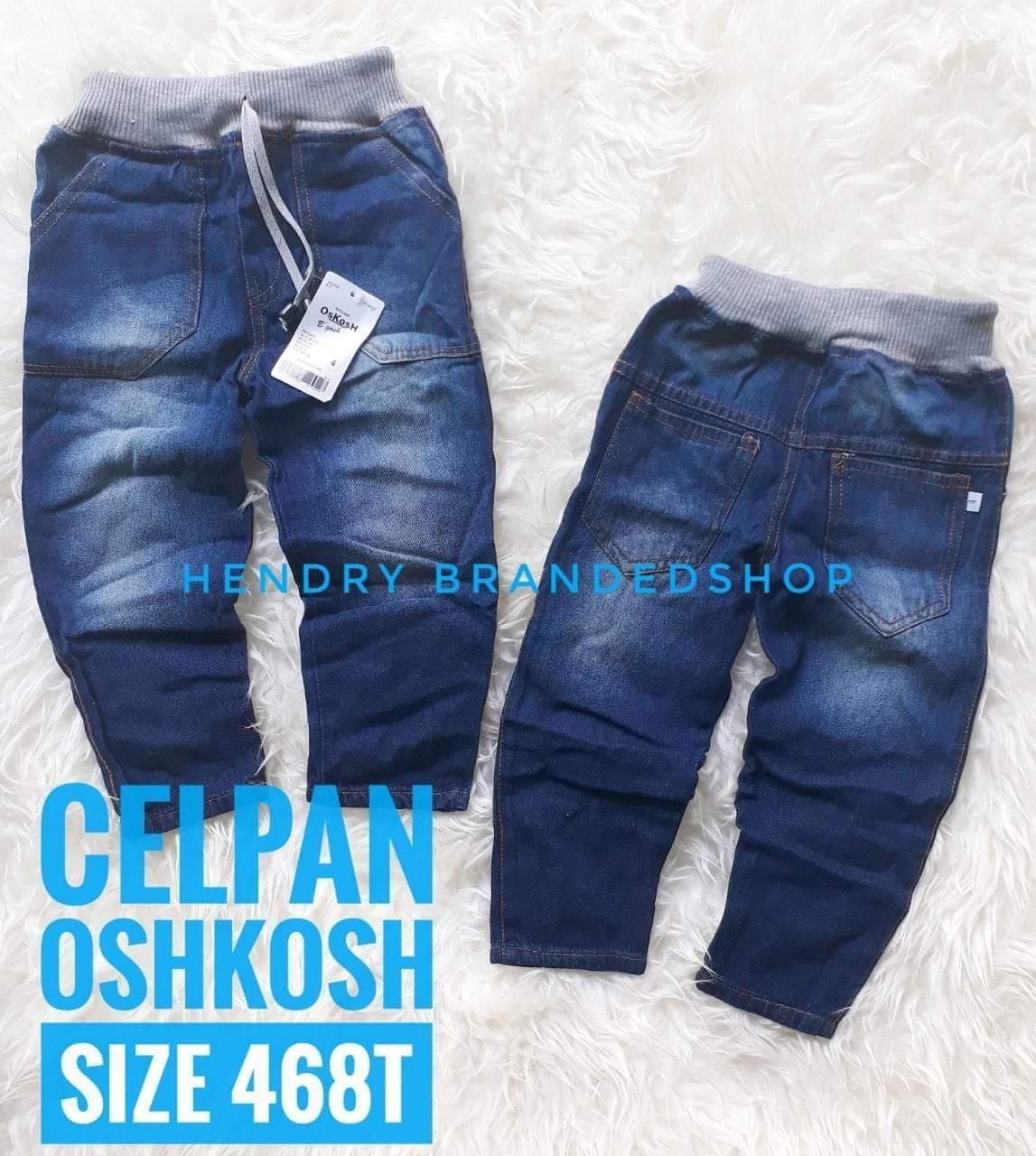 Jeans PanjangRib Oshkhos 2-5 T