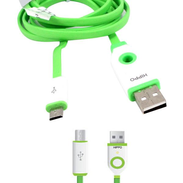 [LIMITED EDITION] Kabel Data Hippo Teleport Micro USB Samsung Blackberry Advan LG Asus