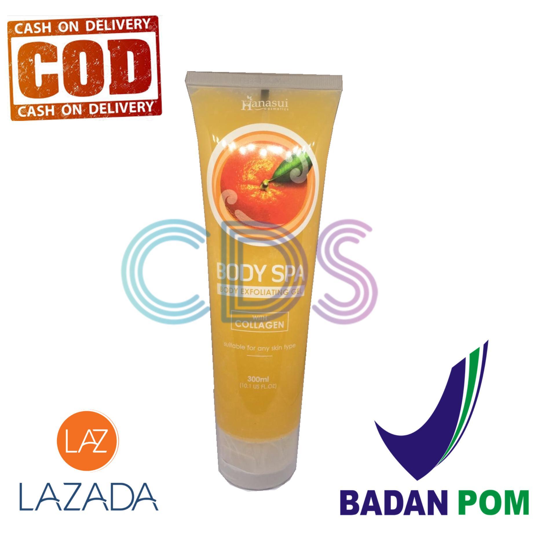 Jual Produk Hanasui Online Terbaru Di Hanasuiii Body Spa Exfoliating Gel With Collagen Peeling Perontok Daki Orange