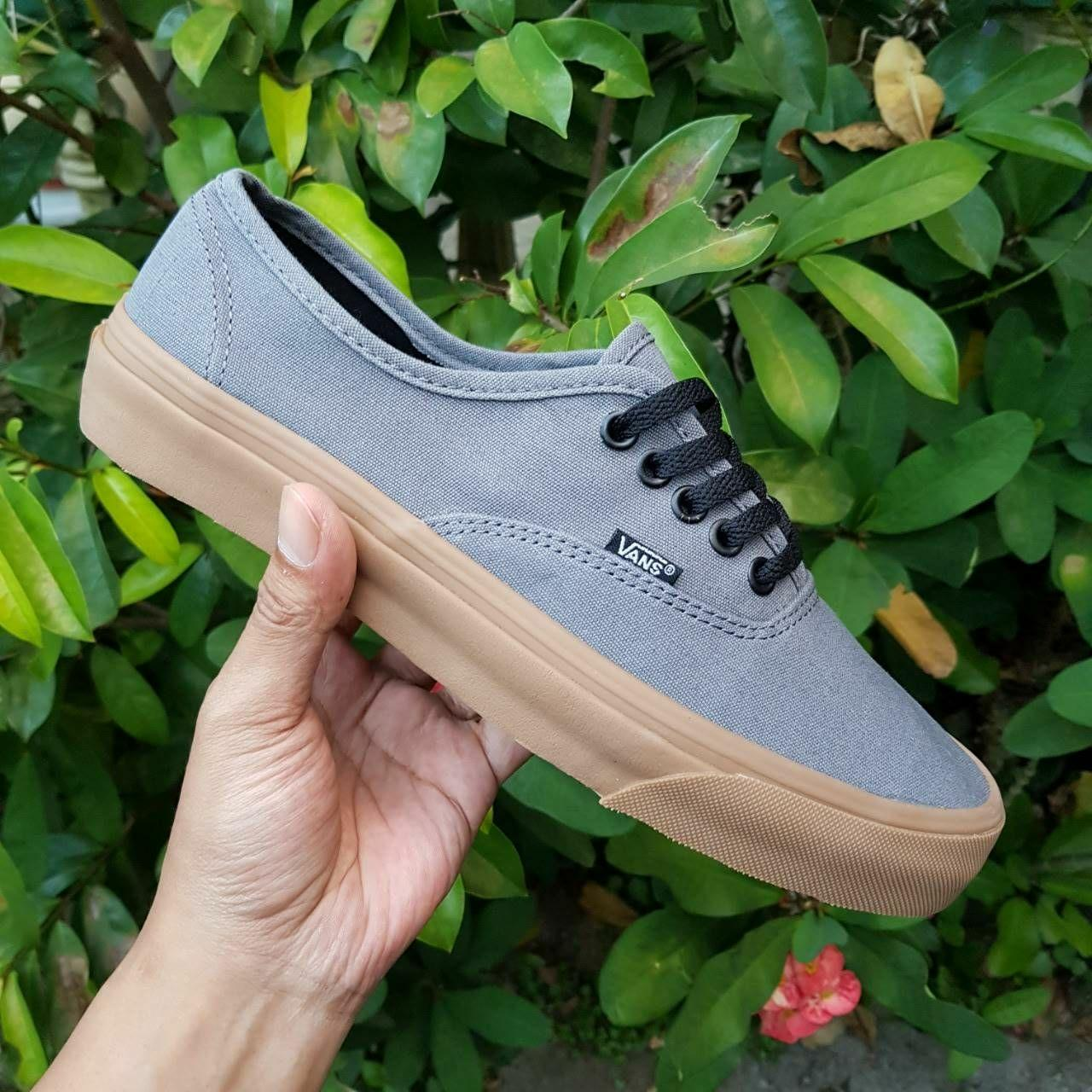 Promo Sepatu Vans Authentic Mono Grey Gum ICC