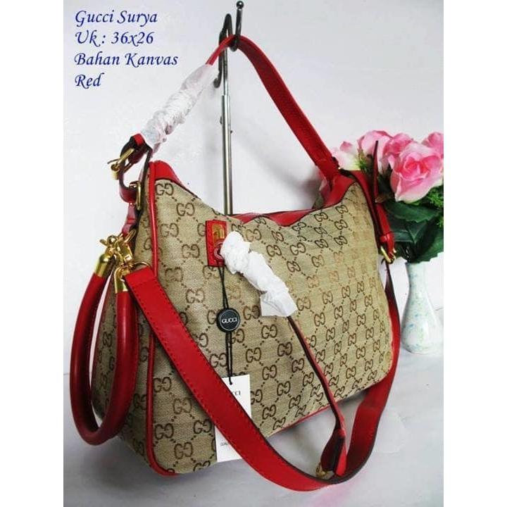 PROMO!!  tas guci surya import tas wanita tas batam tas fashion tas import