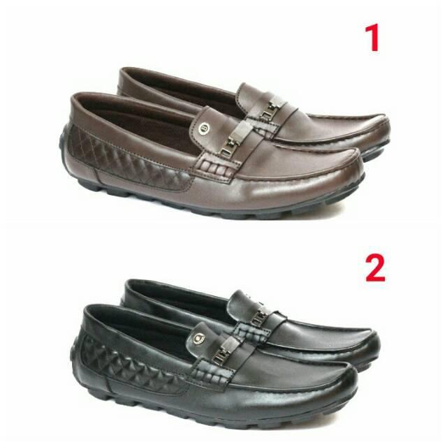 Sepatu Slip On Santai Terlaris Bally Casual Slop Pria 39 40 41 42 43
