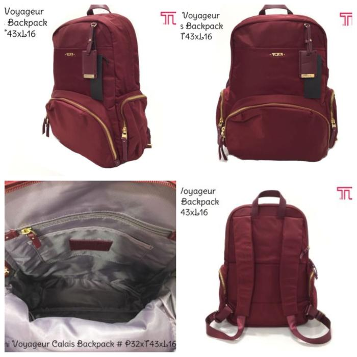 Tumi Voyageur Calais Backpack Tas Original Ori