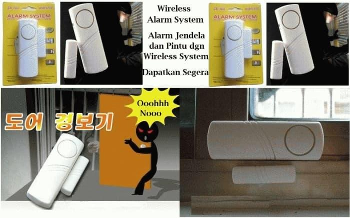 Pusat Barang Unik PG Alarm Anti Maling gen-2 (NEW) - Wireless System