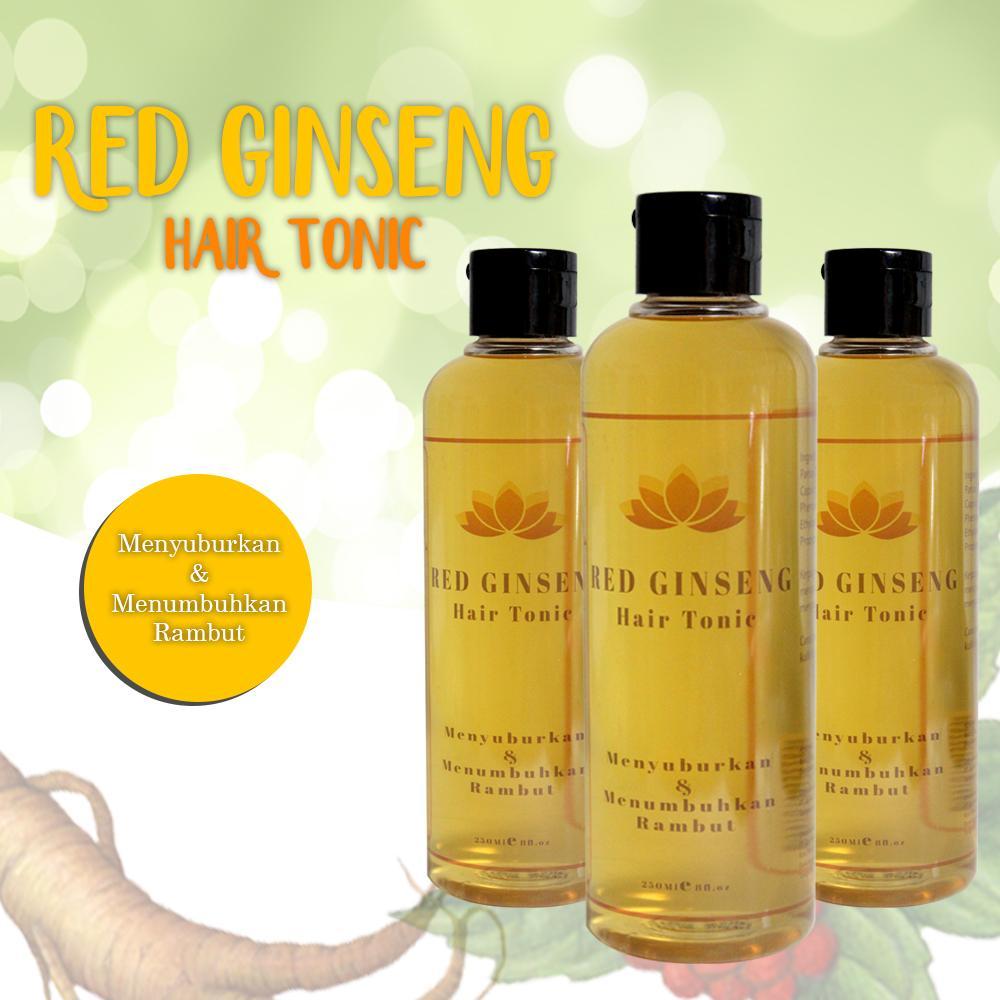 Sando Hair Tonic Ginseng 125ml dengan Ginseng Import Asli Shopee Source · Tonic Ginseng Merah Penumbuh Rambut AlamiIDR150000
