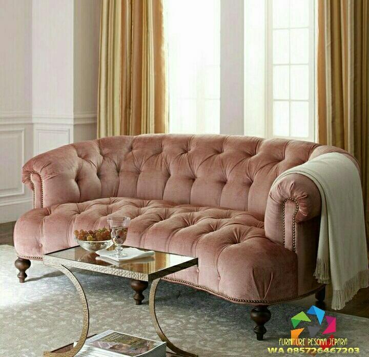 Sofa keluarga elegan. PESONA JEPARA 208