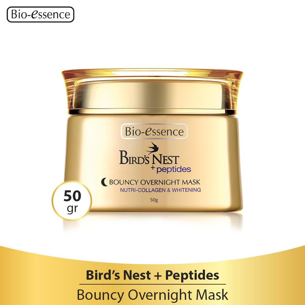 Jual Produk Bio Essence Online Terbaru Di Treatment In Oil 60ml Free Miracle Water 30ml Birds Nest Peptides Bouncy Overnight Mask 50gr