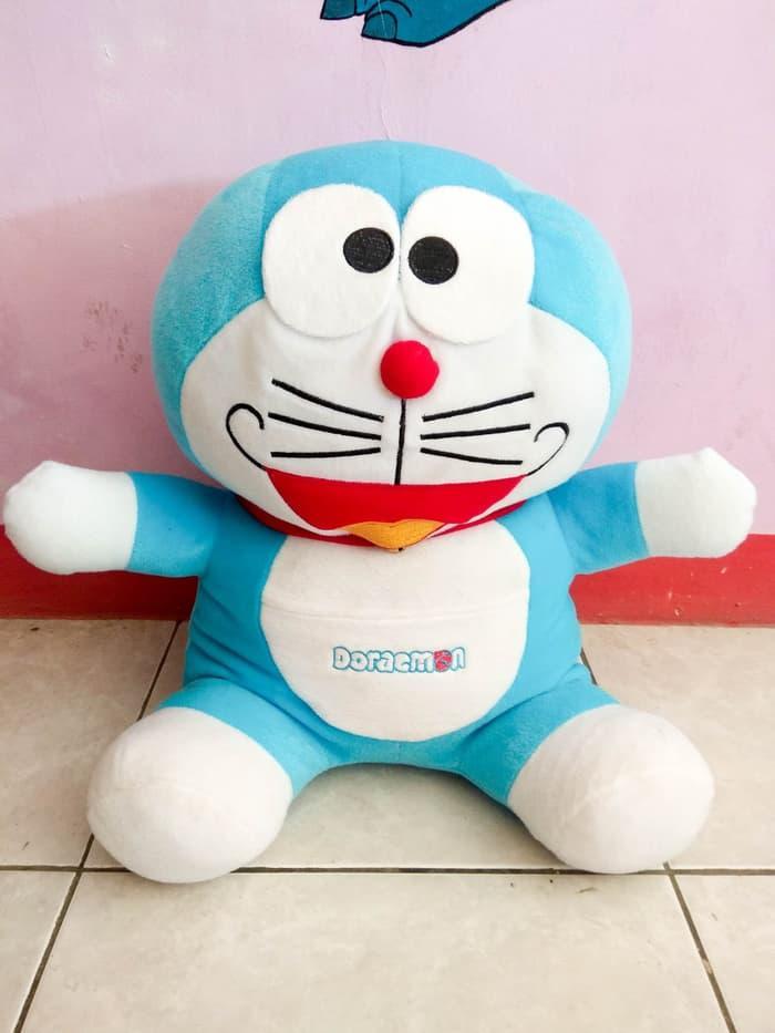 Boneka Doraemon Besar Xl - Ukuran 50Cm - Velboa - ready 375f8c26ec