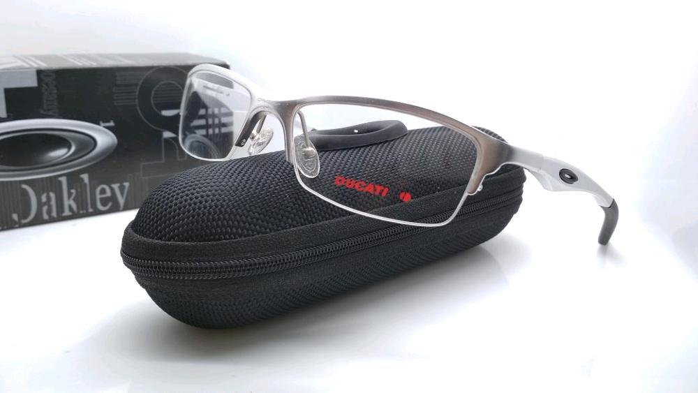kacamata frame sport aluminium bracket Half silver merah kacamata pria kwalitas premium  di lapak kacamata_jakarta getjoinshop