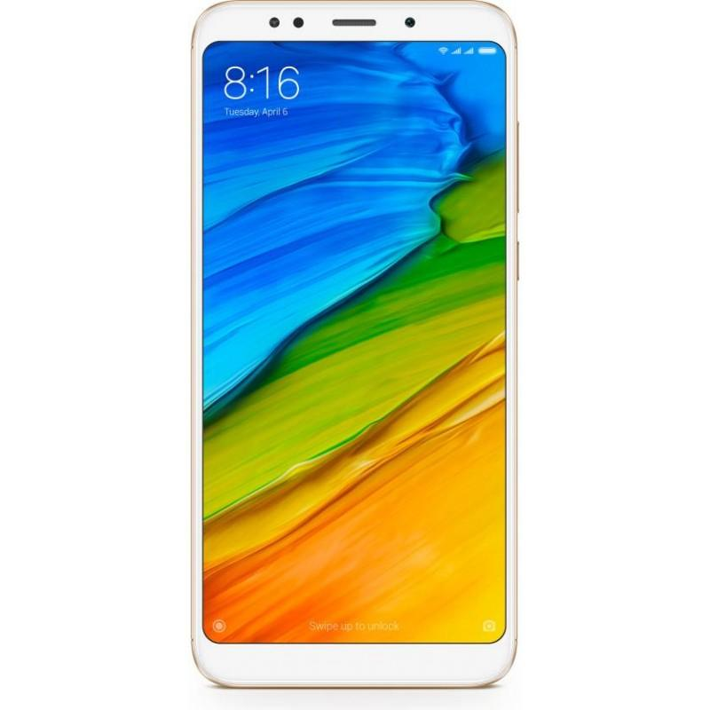 Xiaomi Redmi Note 5 AI Dual-back Camera - RAM 4/64 GB - Gold