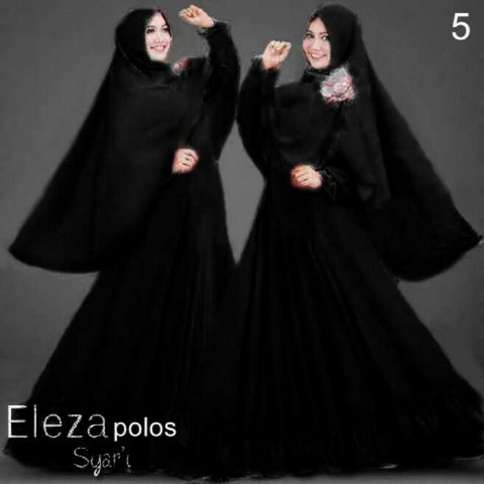 Tanah Abang Fashion terbaru termurah dan terlaris Gamis Muslim Eleza Aer