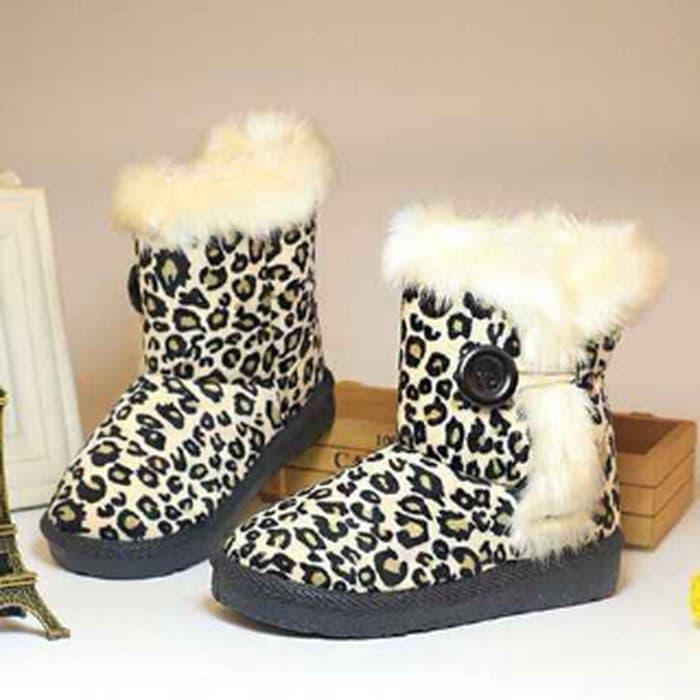 Sepatu Boot Anak Loreng