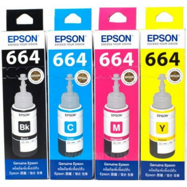 Tinta Printer Epson Original L100 L110 L120 L200 L210 L220 L300 L310 L350 L355 L450 L455 L560 L565 Variasi Tidak Ada