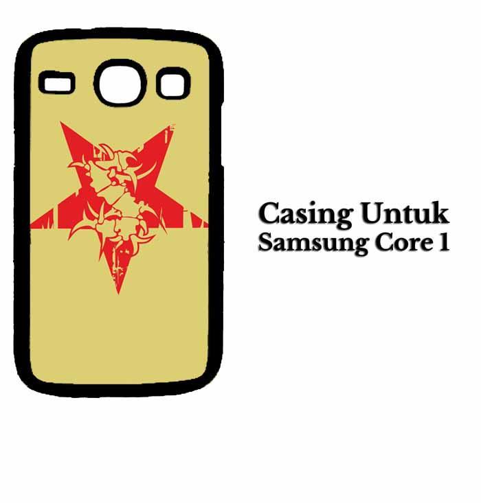 Casing SAMSUNG CORE 1 sepultura logo Hardcase Custom Case Se7enstores