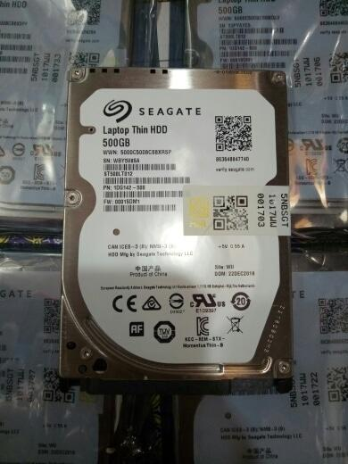 Harddisk Internal Laptop 500GB Seagate Thin HDD