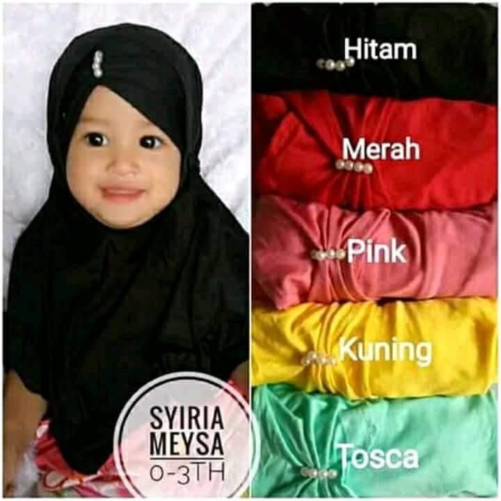 5 pcs Jilbab Anak Hijab Anak Turban Anak