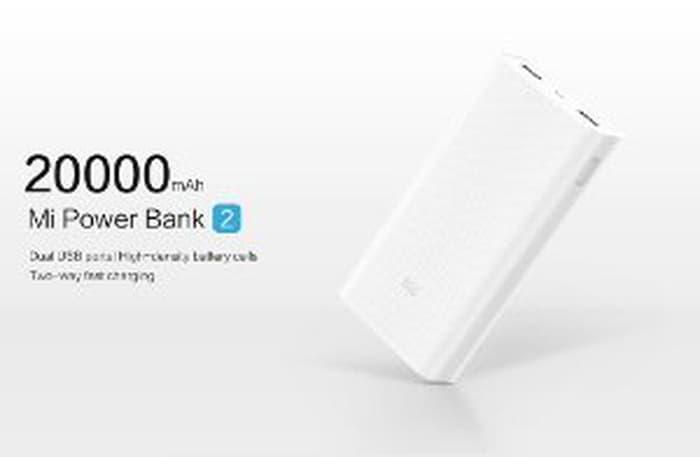 Xiaomi Powerbank 20000 mAh Generation 2 Fast Charging ORIGINAL - Power Bank Terbaru - Aksesoris Handphone - Aksesoris Handphone Terlaris dan Murah - Power Bank Termurah - Power Bank Kualitas Terbaik - Alat Cas Handphone